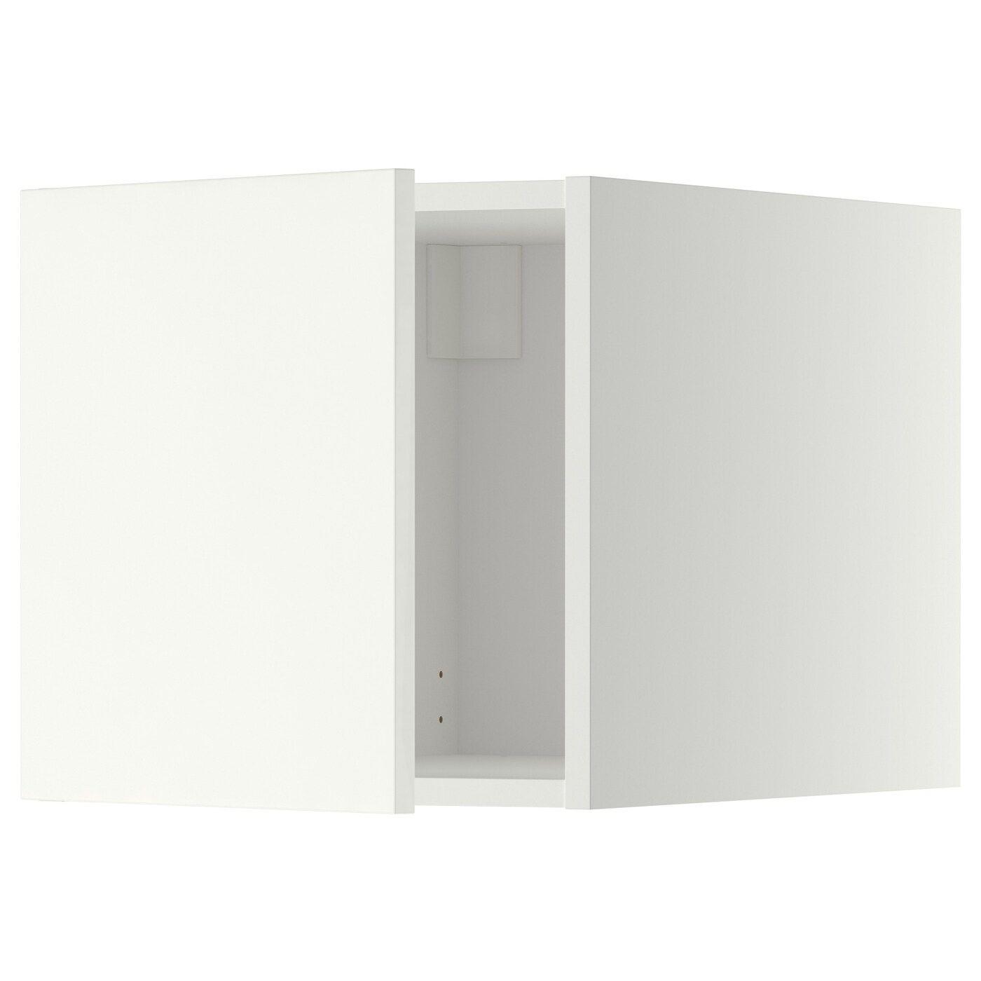 Metod Extra Bovenkast Wit Haggeby Wit 40x40 Cm Het Deurtje Kan Links Of Rechts Worden Afgehangen Stevige Constructie Basis Oberschranke Ikea Ikea Produkte