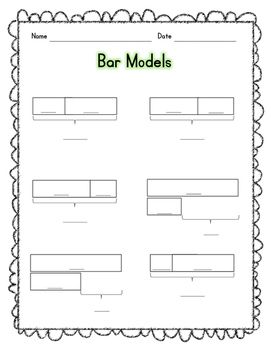 Bar Models Bar Model Math Worksheets Math School