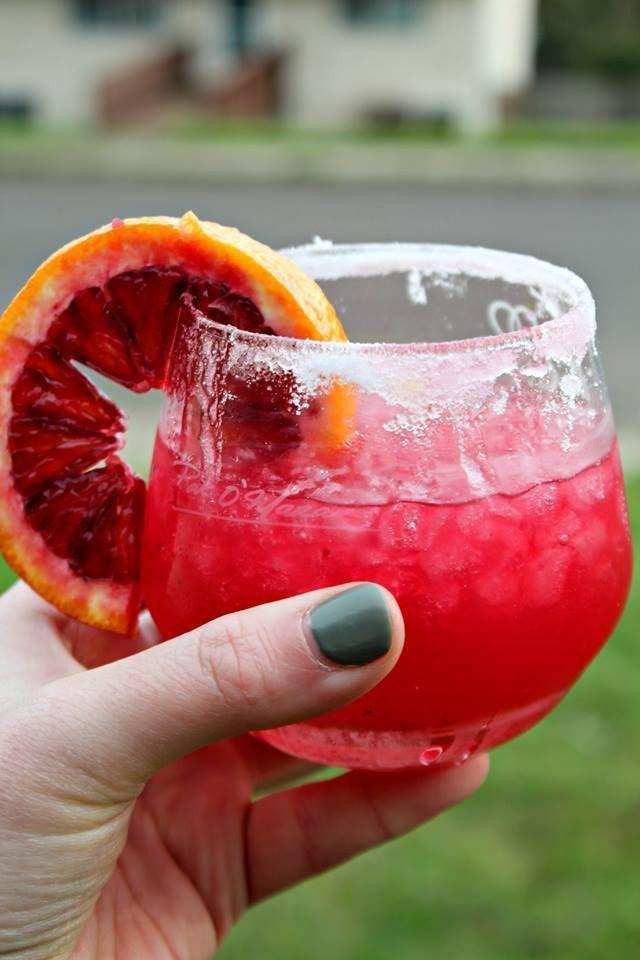 Blood Orange Lemon Drop Cocktail New Healthy Starbucks Drinks! Click To Read More!