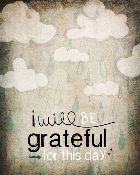 Grateful even in the storms of life. Print from vol25