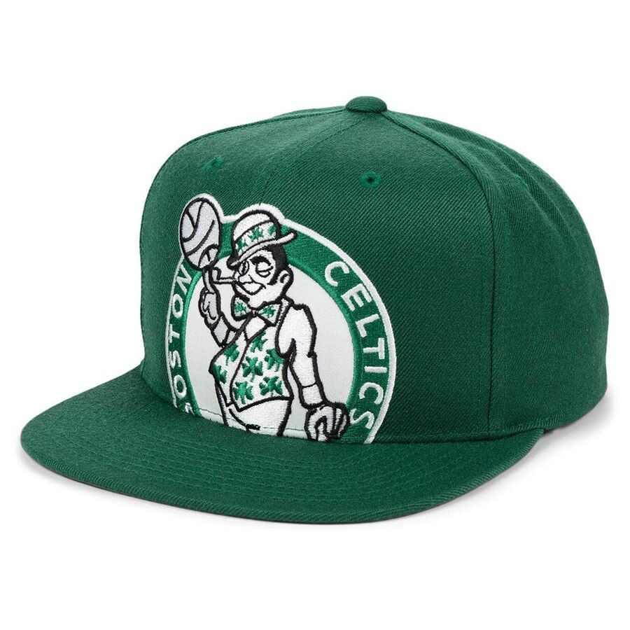 new concept 3358f 40975 Boston Celtics Mitchell   Ness Hardwood Classics Cropped Snapback Hat –  Kelly Green, Your Price