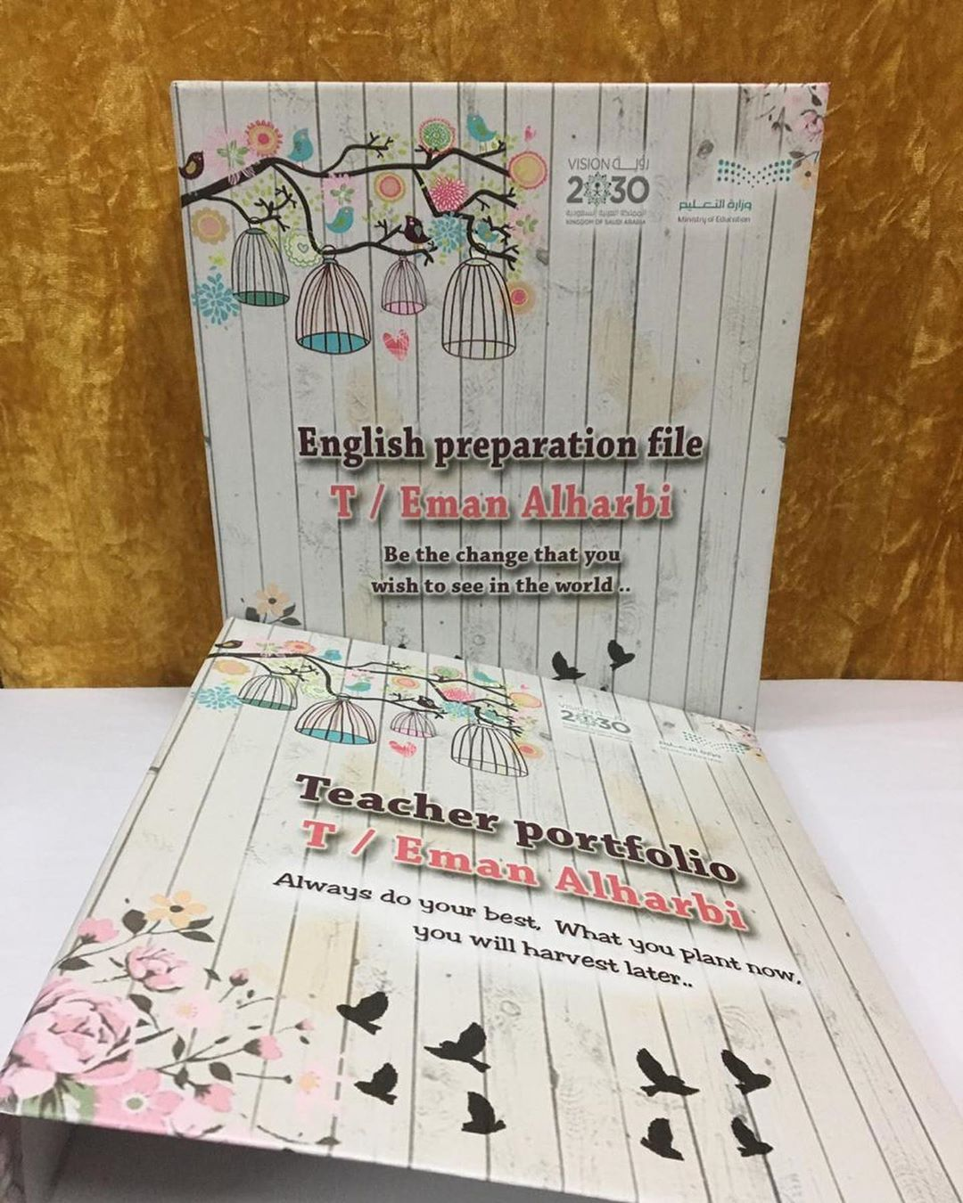 English Preparation File Teacher Portfolio Teacher Portfolio Teacher Portfolio