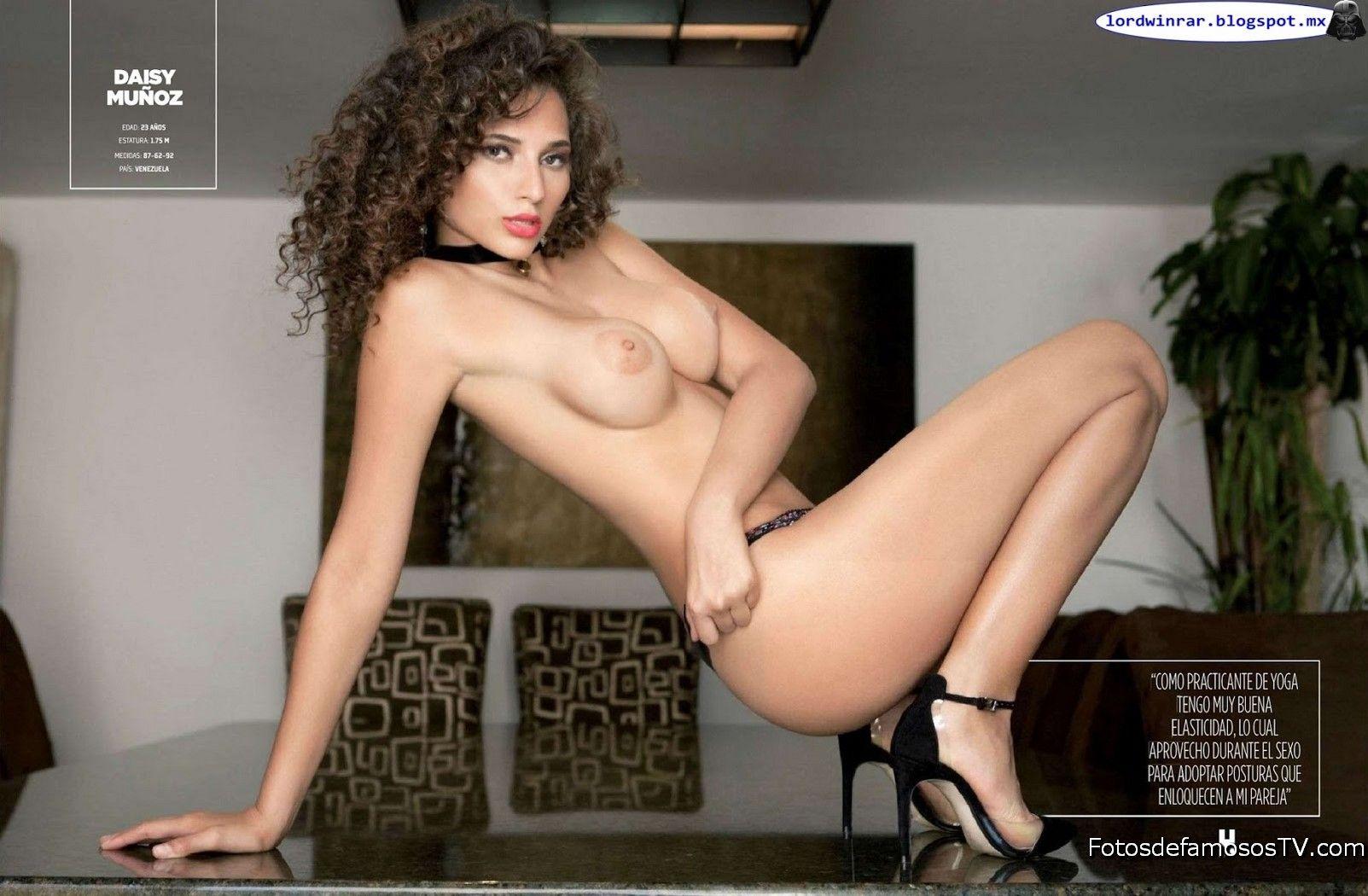Fotos De Daisy Muñoz Desnuda En La Revista H En Su Edición De Julio