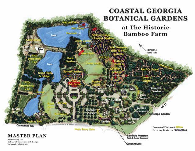 Charmant Origin, Mission And Vision Of Savannahu0027s Coastal Georgia Botanical Gardens.