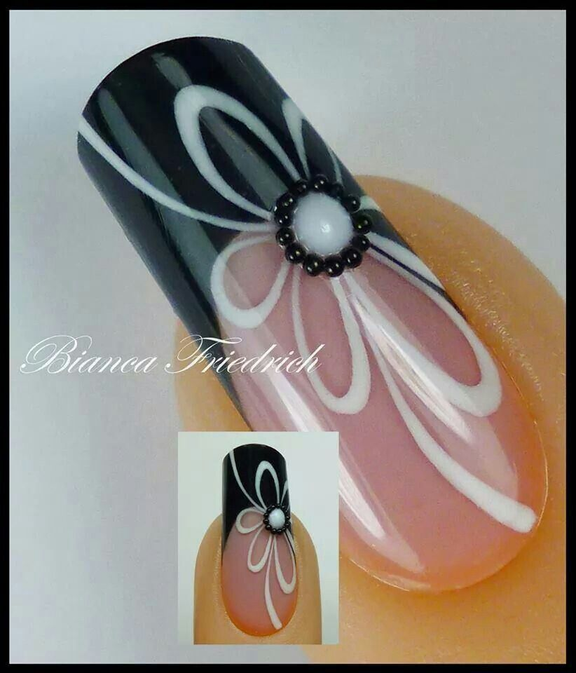 Pin de Brenda Andrie en Niffty Nailz | Pinterest | Diseños de uñas ...