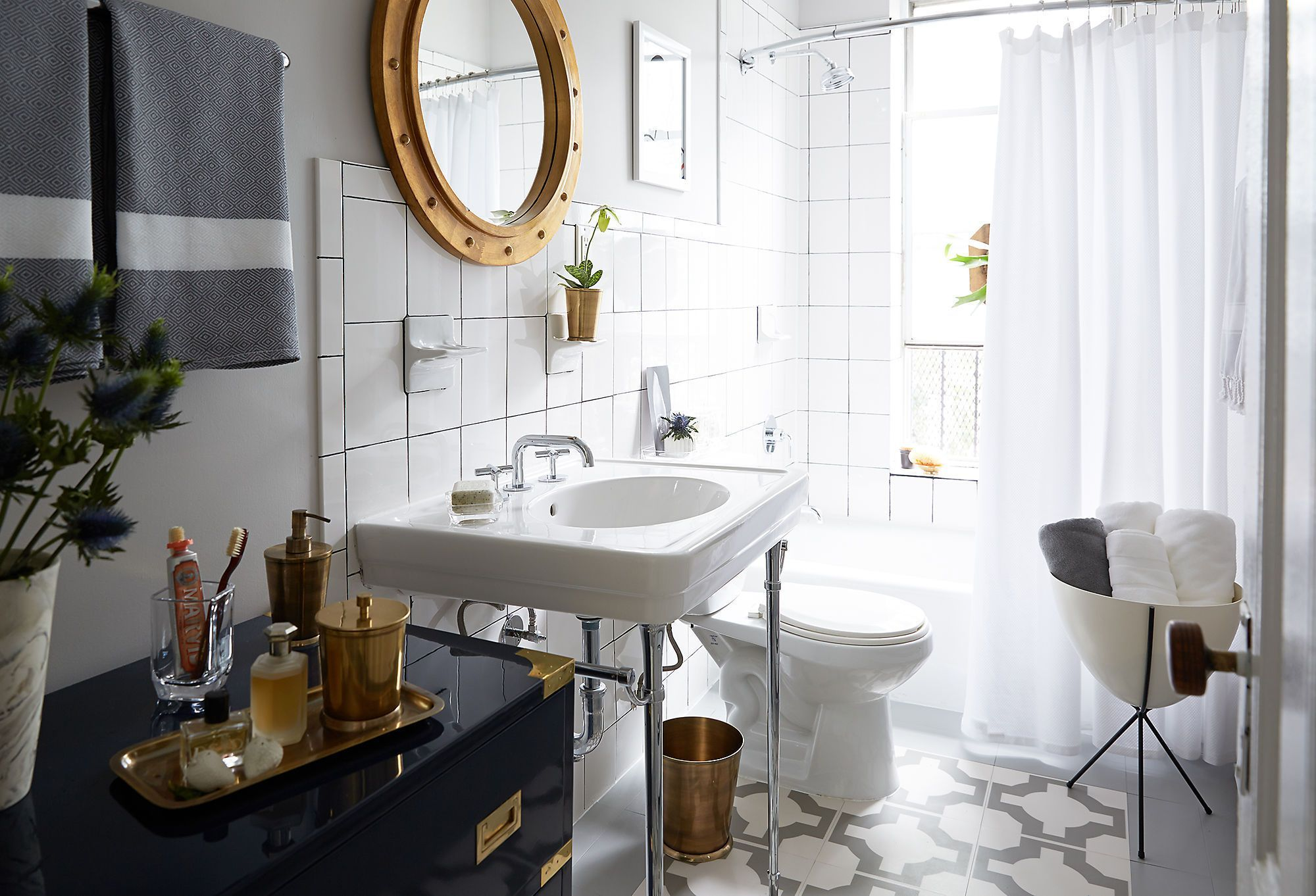Dress Up Your Bath: Gorgeous Mirrors, Storage & More