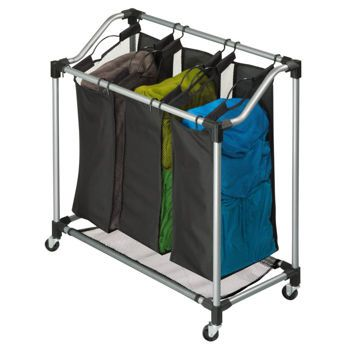 Costco 39 99 Honey Can Do Elite Triple Laundry Sorter L X W X H 38 Cm X 78 Cm X 83 Cm 15 In Laundry Sorter Storage Bags For Clothes Laundry Sorter Hamper
