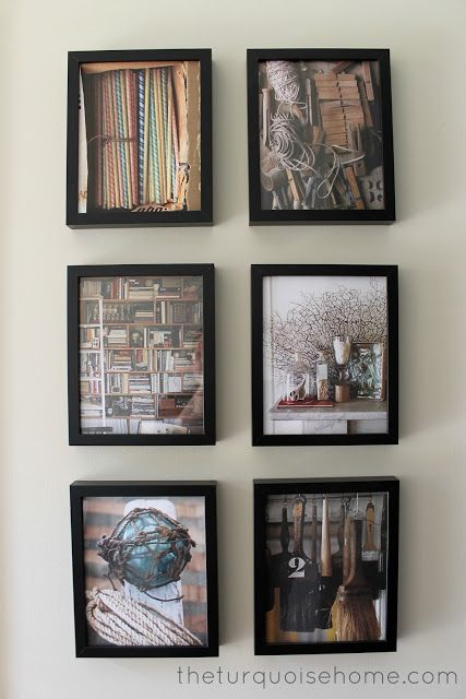 How to Create a Budget-Friendly Art Gallery. could go to half price ...