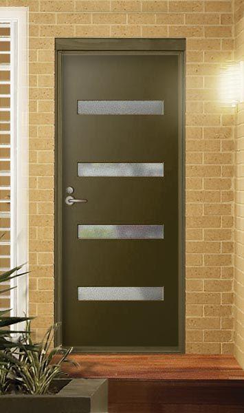 Pin By B R On External Internal Front Entry Doors Modern Front Door Retro Front Door