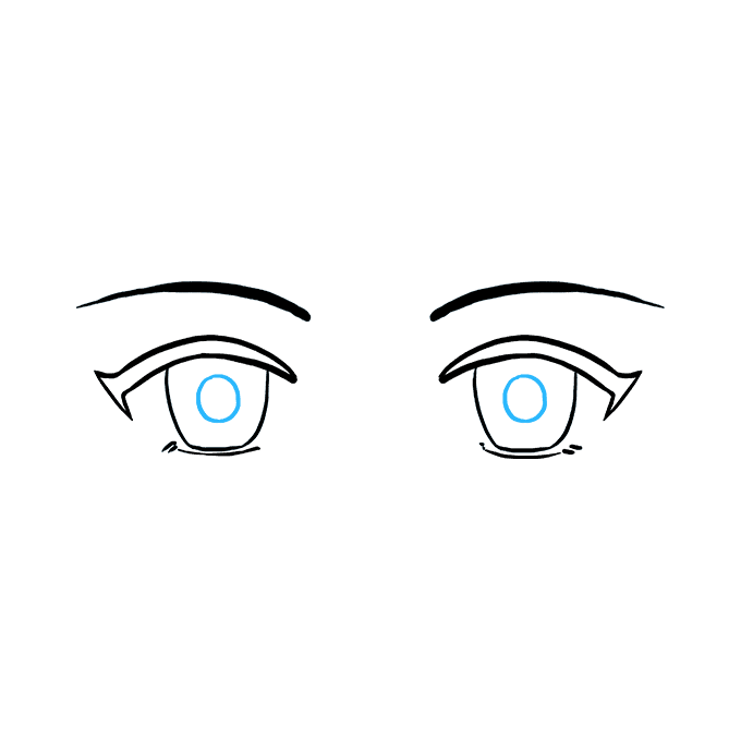 How To Draw Anime Eyes Really Easy Drawing Tutorial How To Draw Anime Eyes Drawing Tutorial Easy Anime Eyes