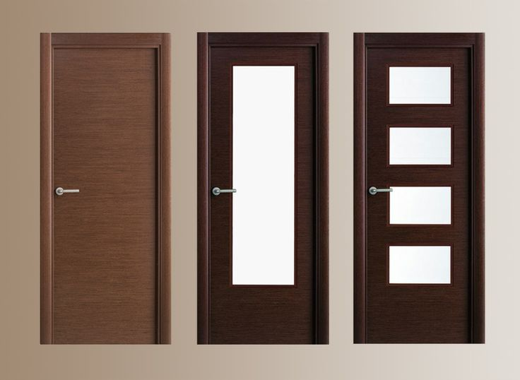 Puertas de madera modernas puertas y herrer a for Puertas interiores modernas