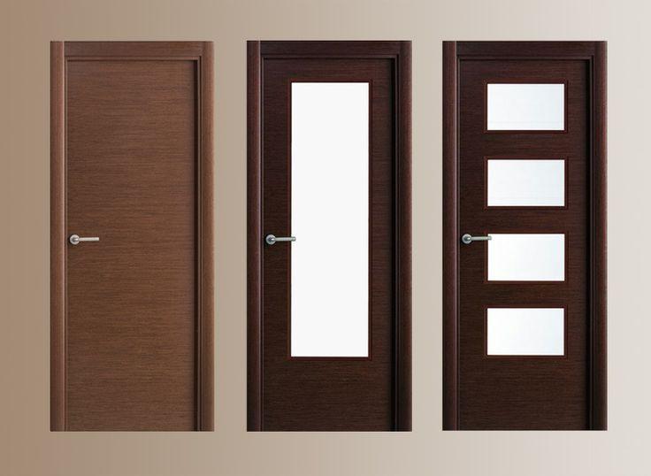 Puertas de madera modernas home decor pinterest for Puertas de madera interiores minimalistas