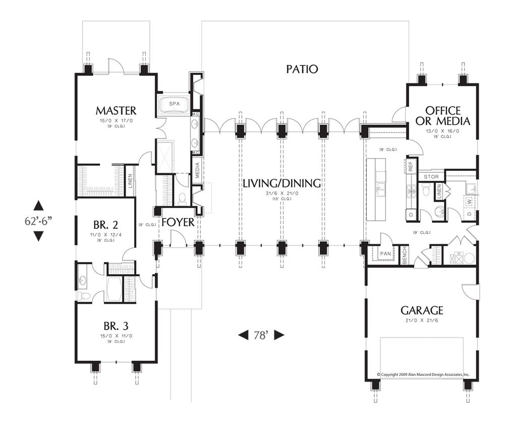 Mascord House Plan 1240 House Plans Jack O 39 Connell And