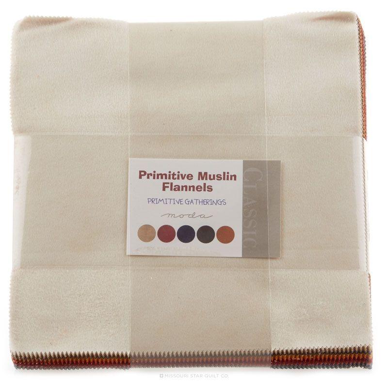 Moda PRIMITIVE MUSLIN Time Worn 1040 23 Fabric By The Yard