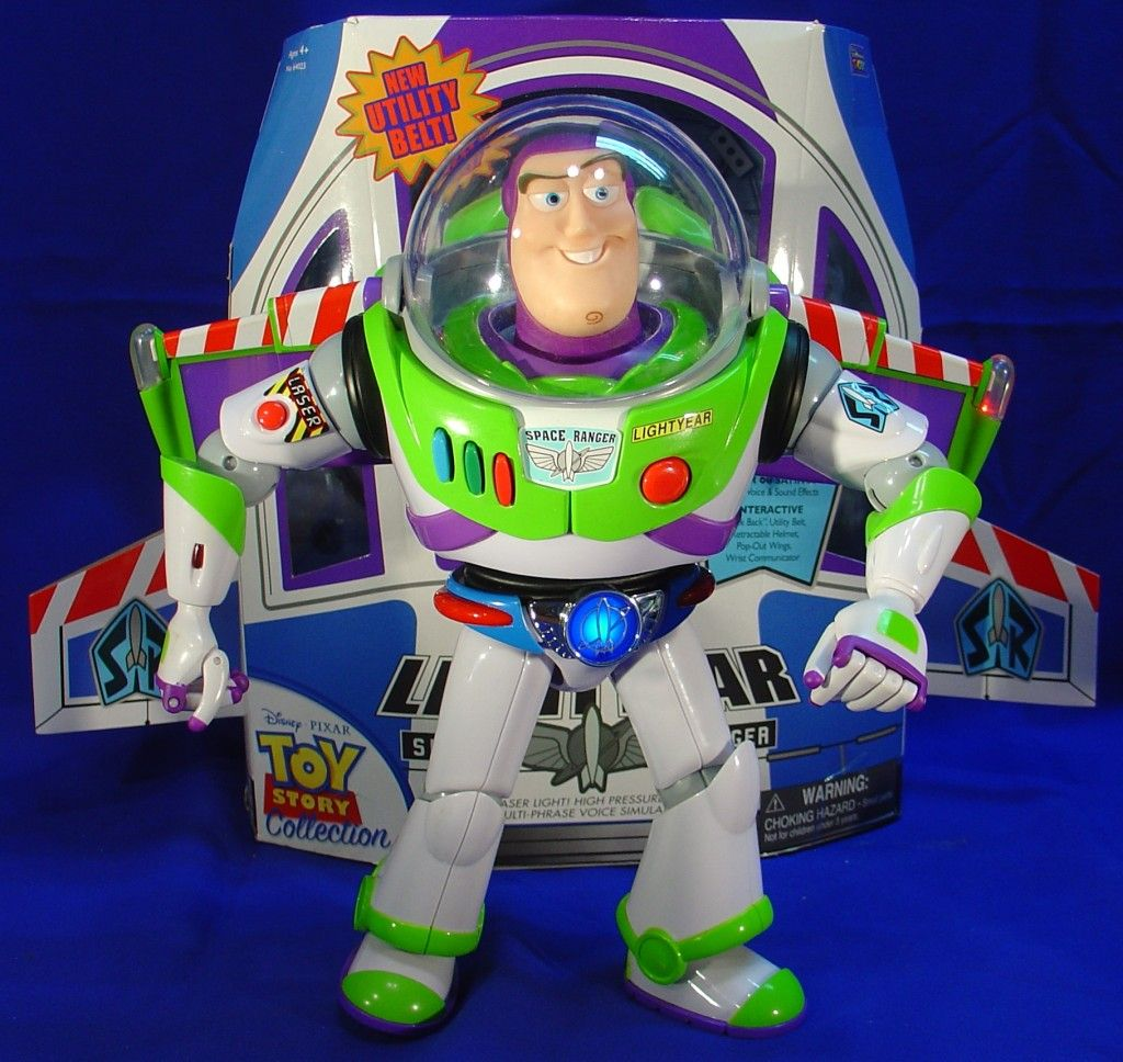 Toy Story Collection - Buzz Lightyear Film Replica with Utility Belt ... 595489a90b7