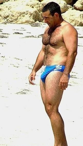 Pin By Lew Bull On Dads In Speedos Pinterest Hairy Men Sexy Men
