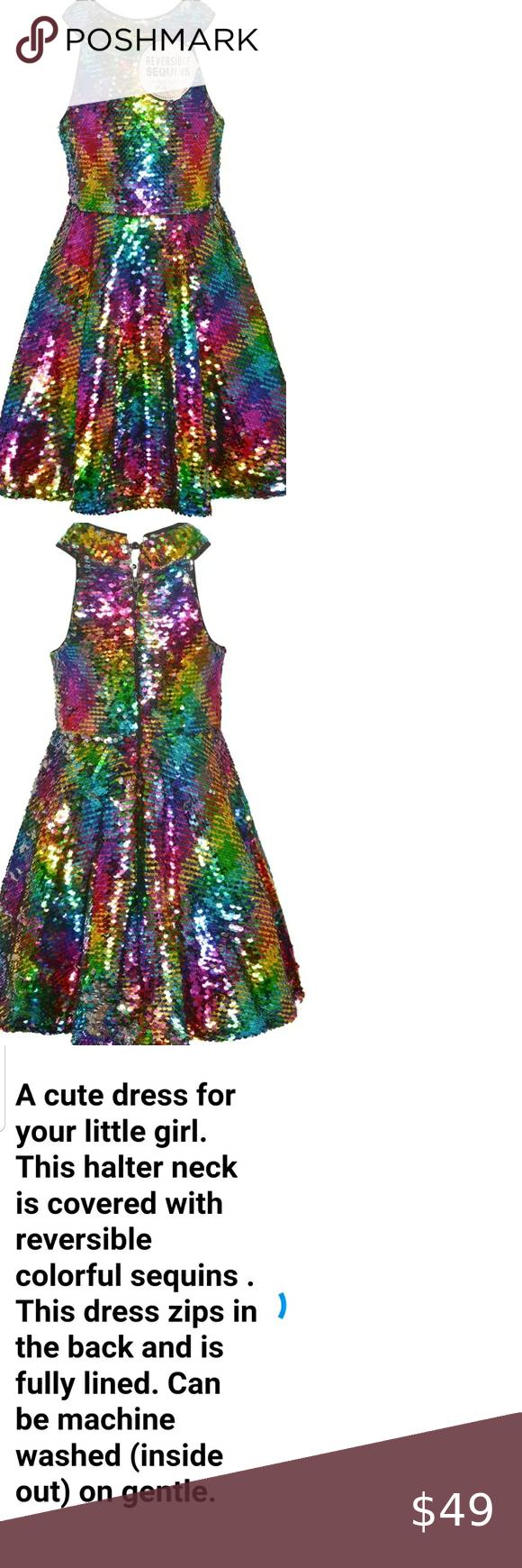 Girl S Flip Sequin Rainbow Silver Party Dress 5 5t Silver Party Dress Silver Party Flower Girl Dress Lace [ 1740 x 580 Pixel ]