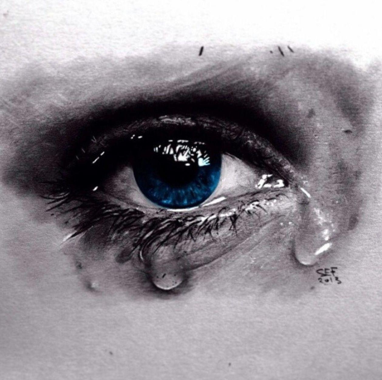 Crying Eye Eye Tattoo Tattoo People Eyes