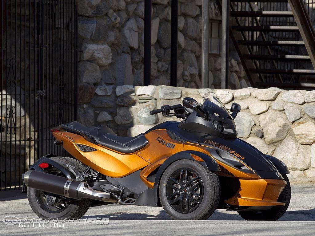 Can Am Spyder Roadster >> Can Am Spyder Roadster Copper Bikes Super Bikes Can Am