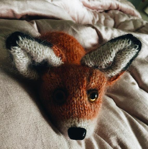 Photo of Fox Cub knitting pattern