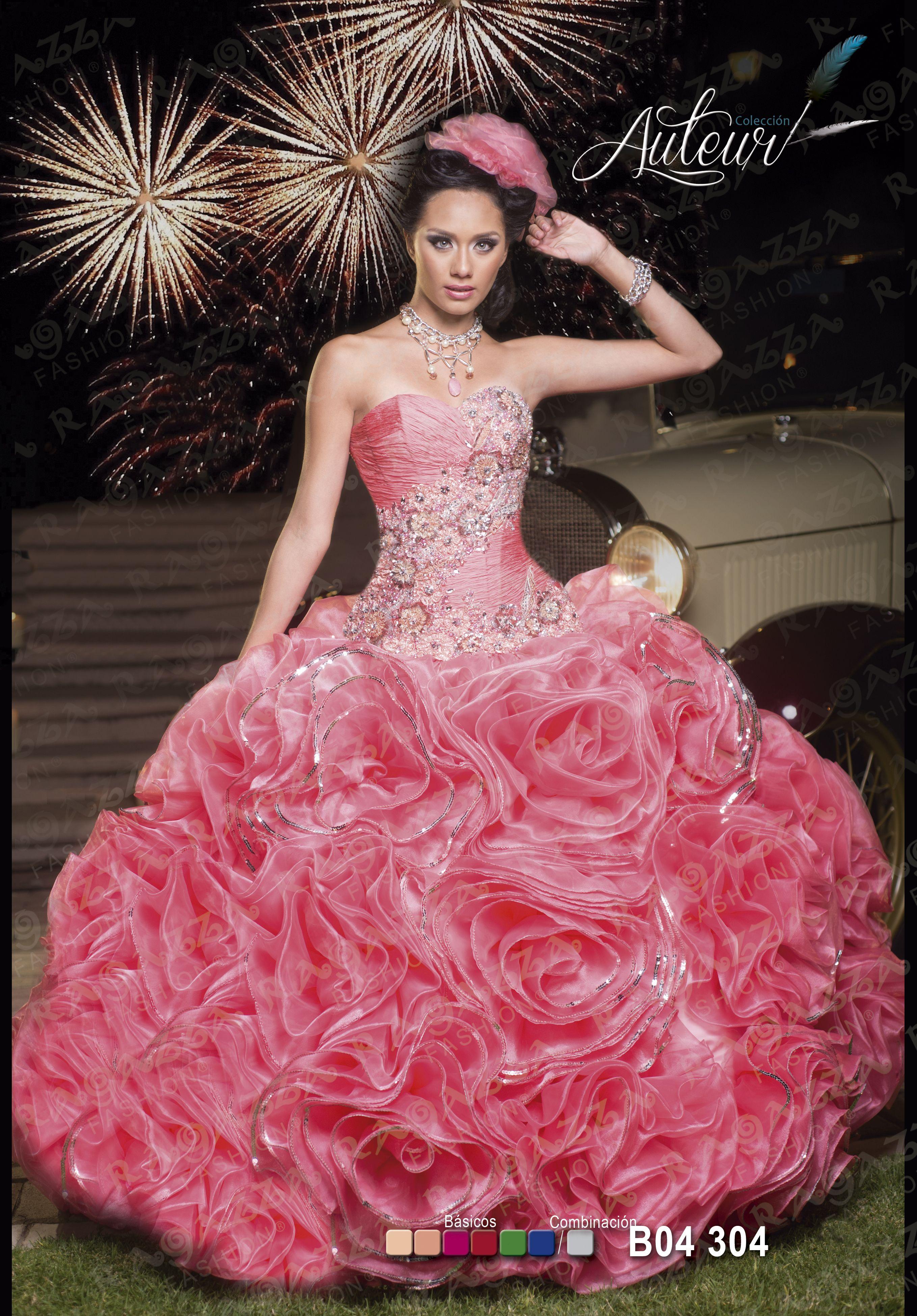 Venta de vestidos de xv años, excelentes diseños | Cosas para ...