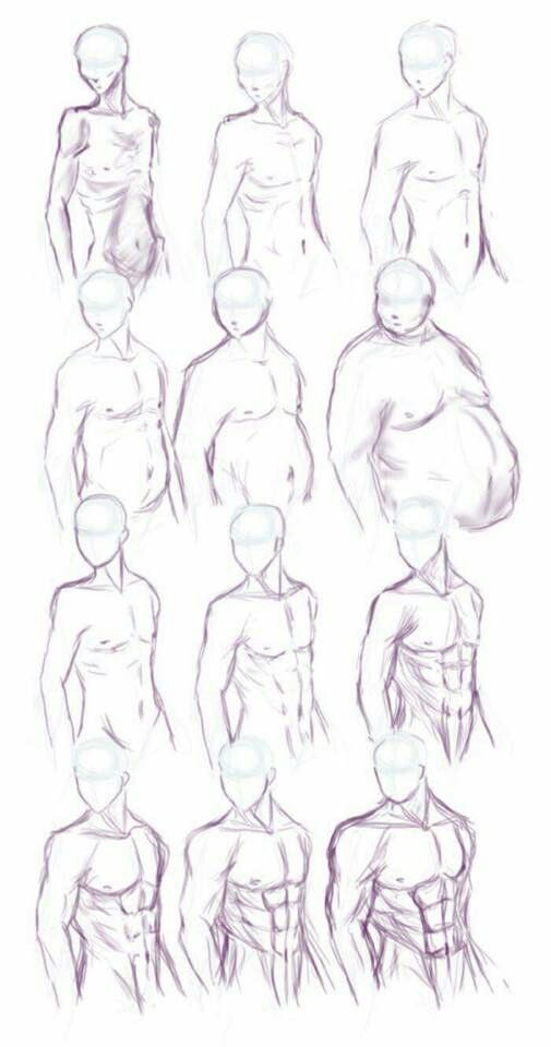 Torse de mec | DRAWING SKETCHING ANIME MANGA | Pinterest | Male body ...