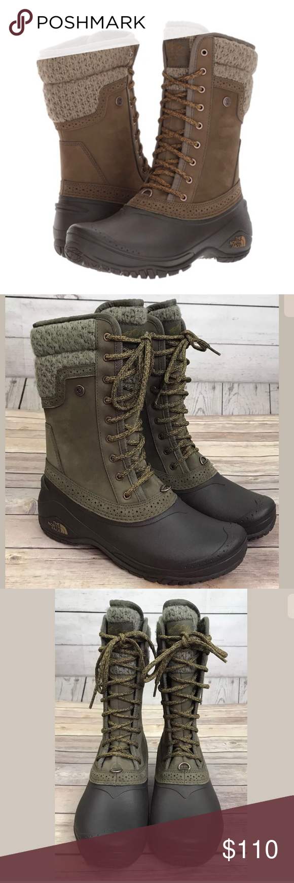 b480b083d3c7 NEW The North Face Shellista II Winter Boots 8 The North Face Shellista II  Mid Boots