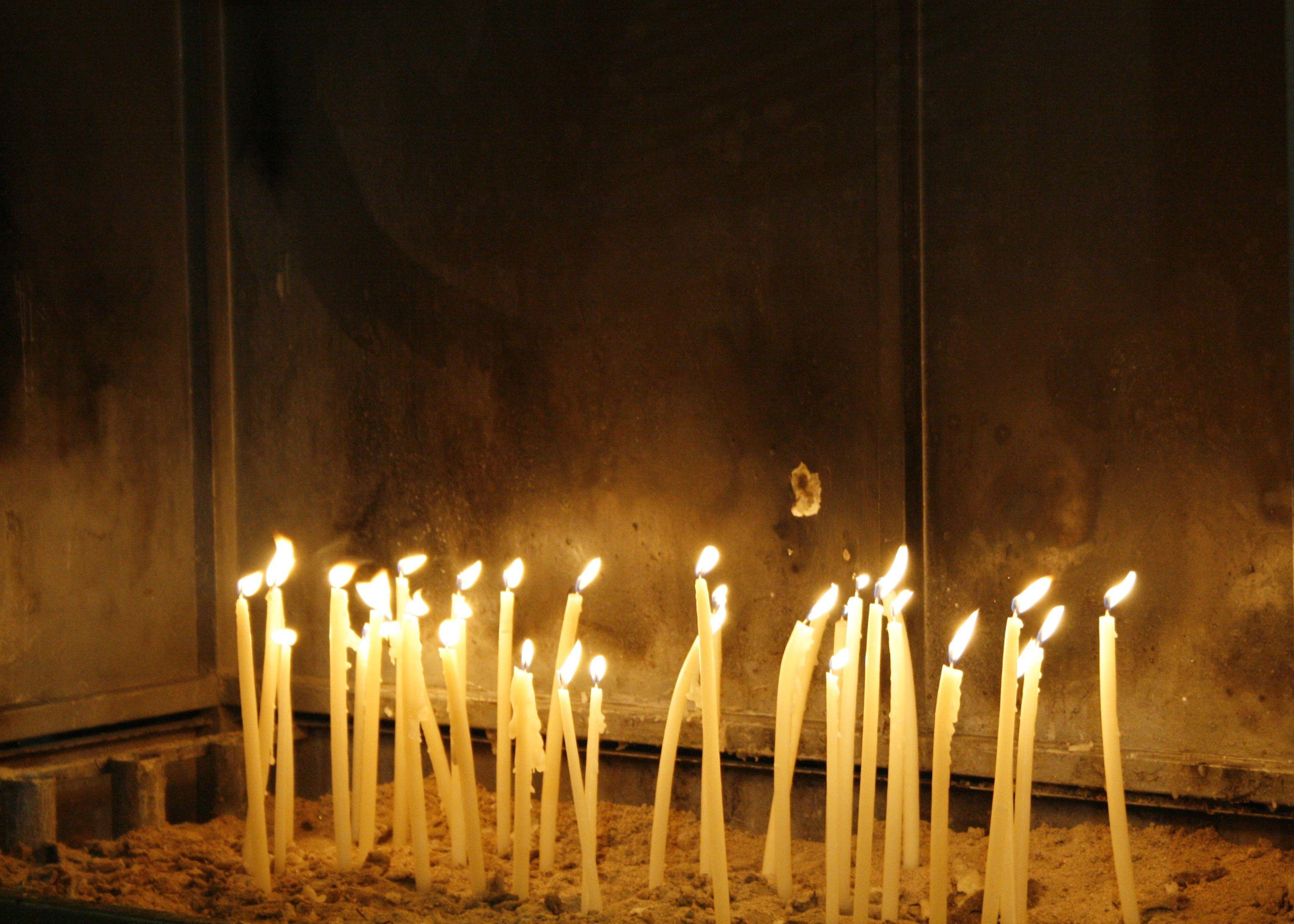 Lit candles, silent prayers  | Hellas (Greece) | Candles, Greece