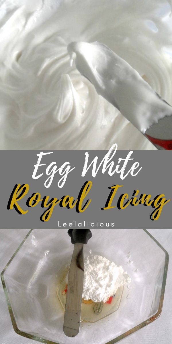 EASY ROYAL ICING BY HAND