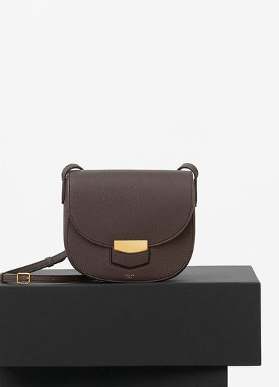 Céline Bag Grained Small Trotteur Calfskin In Baby pS8pYwnqR