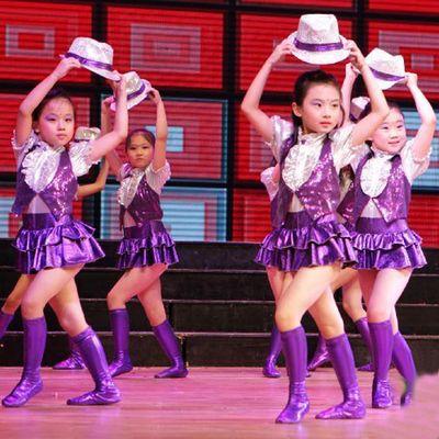 08d12ca8f09b modern kids jazz dance costumes for kids purple contemporary dance ...