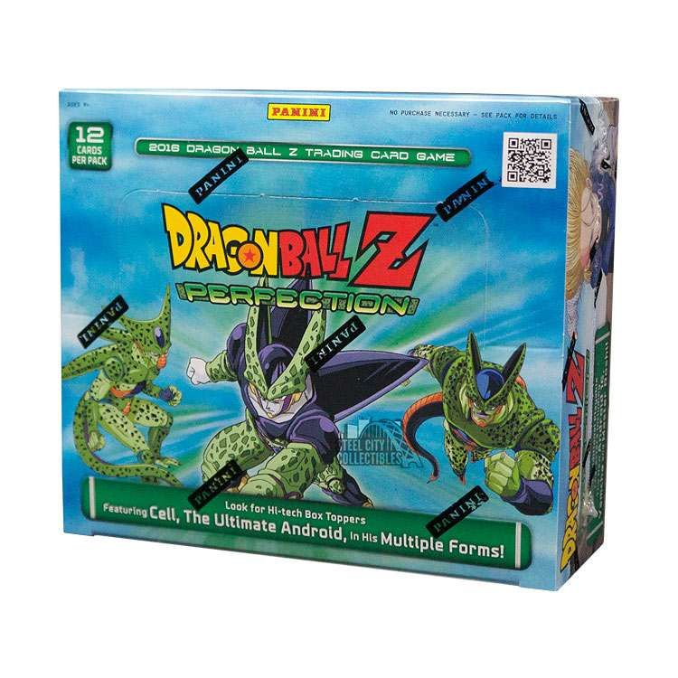 2016 dragon ball z perfection booster box steel city