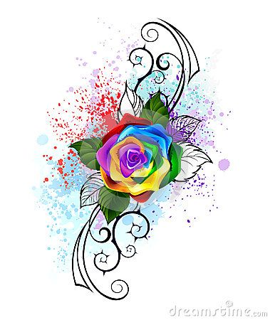 Rainbow Celebration Watercolor Splatter Background Stock Photos Images Pictures 22 Images Rainbow Butterflies Rainbow Roses Watercolor Splatter
