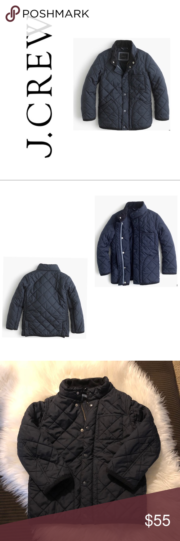 eb60b6080c6d Boys  Sussex quilted jacket