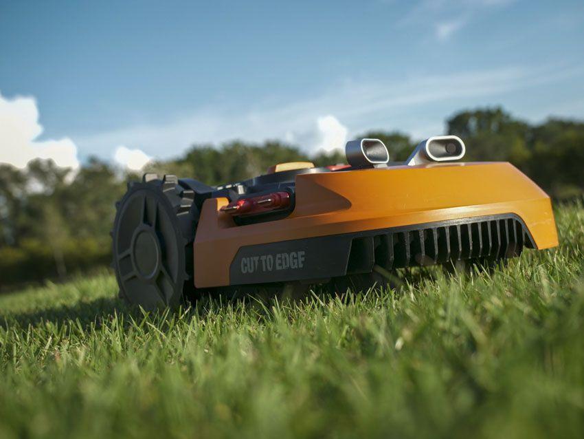 Worx Landroid L 20V Robotic Lawn Mower Review Robotic