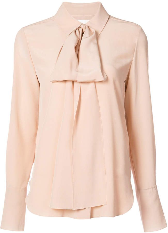 177f12c2e44490 Chloé pussybow blouse