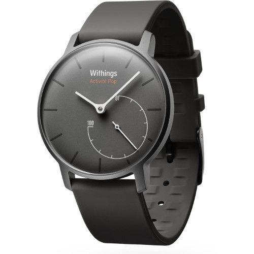Withings HWA01GRY Activite Pop Smart Watch Activity and Sleep Tracker (Grey)