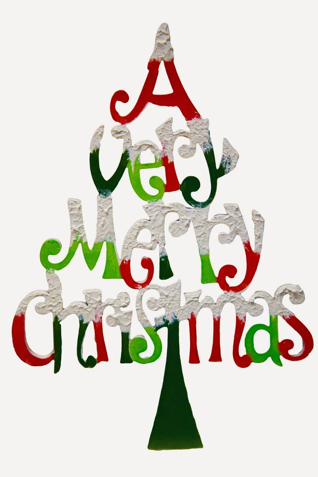 a very merry christmas tree clip art