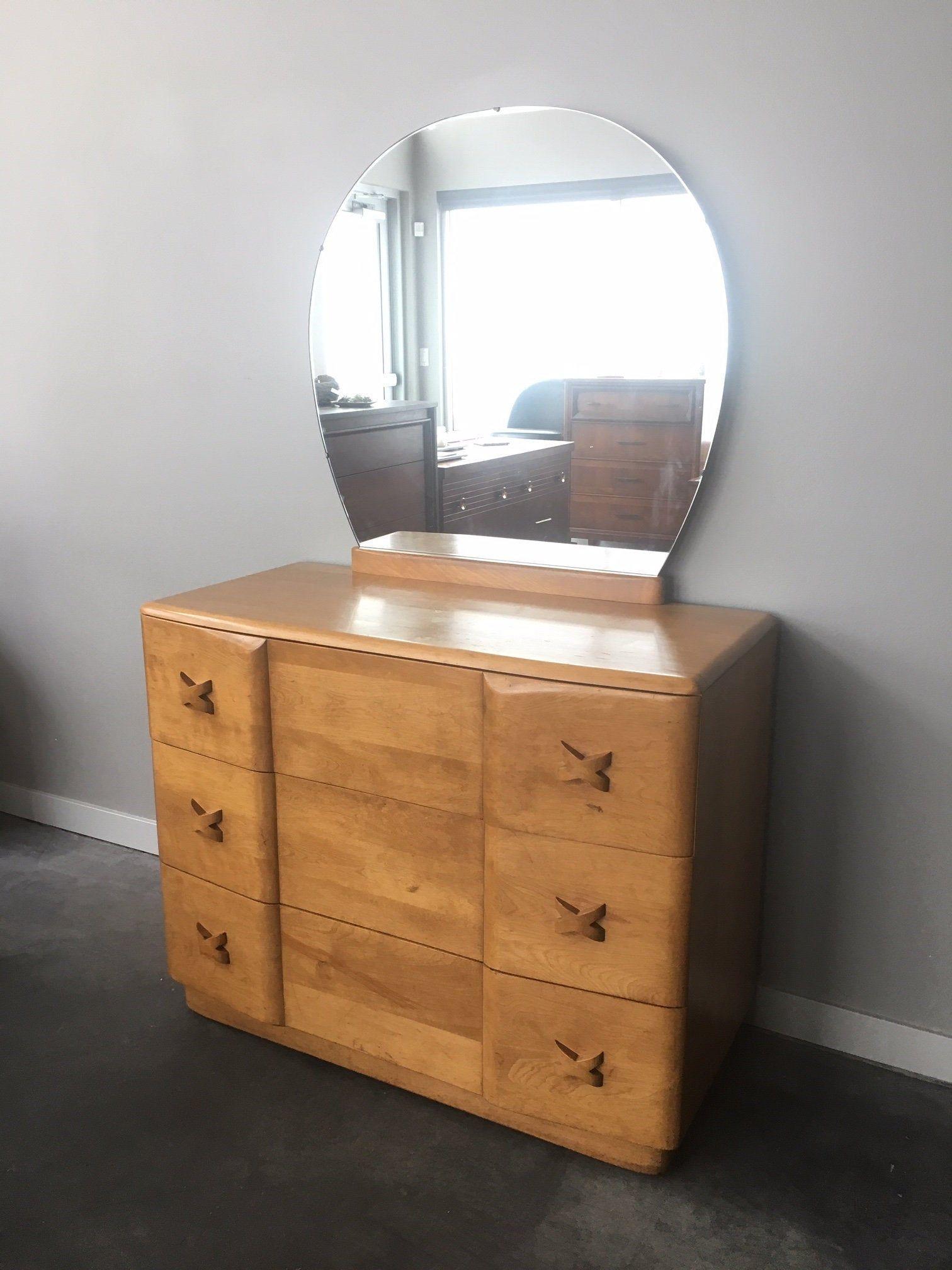 Best Vintage Mid Century Modern Heywood Wakefield Rio 3 Drawer 400 x 300
