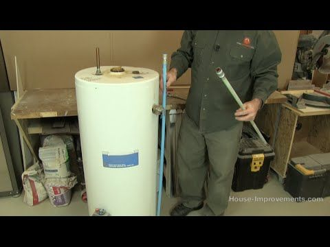 How To Replace A Water Heater Dip Tube - YouTube (With ...