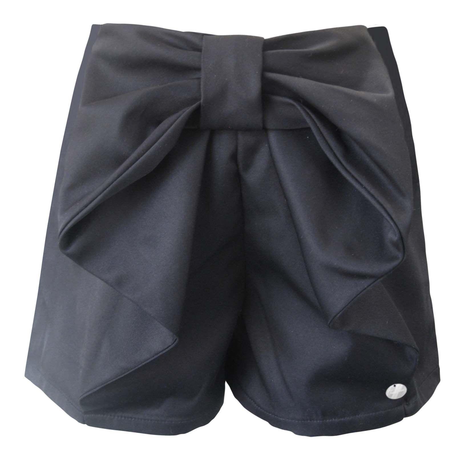 Freshbaked pleated bow shorts ragamuffins designer kidswear for