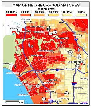 Neighborhoodscout Maps Zip Codes For Various Demographics The Zip Codes Make For Some Odd Boundaries Though The Neighbourhood Map Demographics