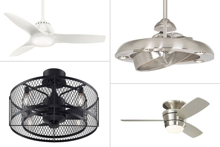 Best Ceiling Fans For Small Bedrooms - Quiet Performance ...