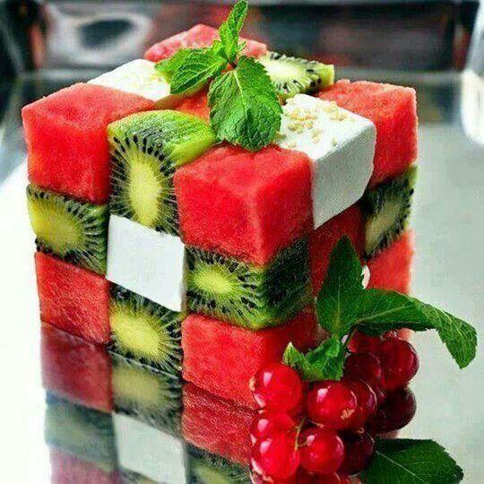 Fruit rubics cube