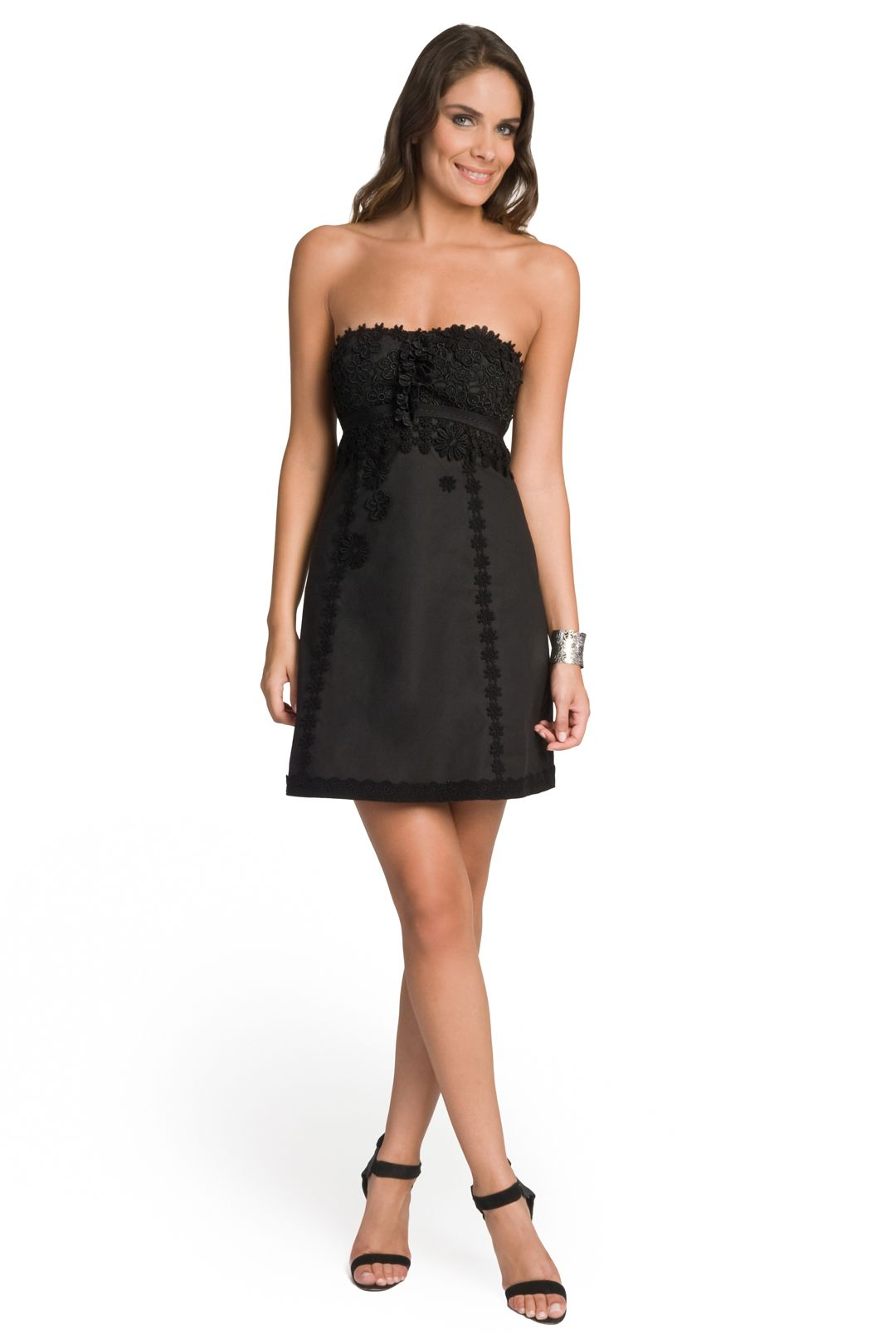 Moschino Cheap And Chic Embellished Strapless Dress Summer Dress Trends Strapless Dresses Short Strapless Dress [ 1620 x 1080 Pixel ]