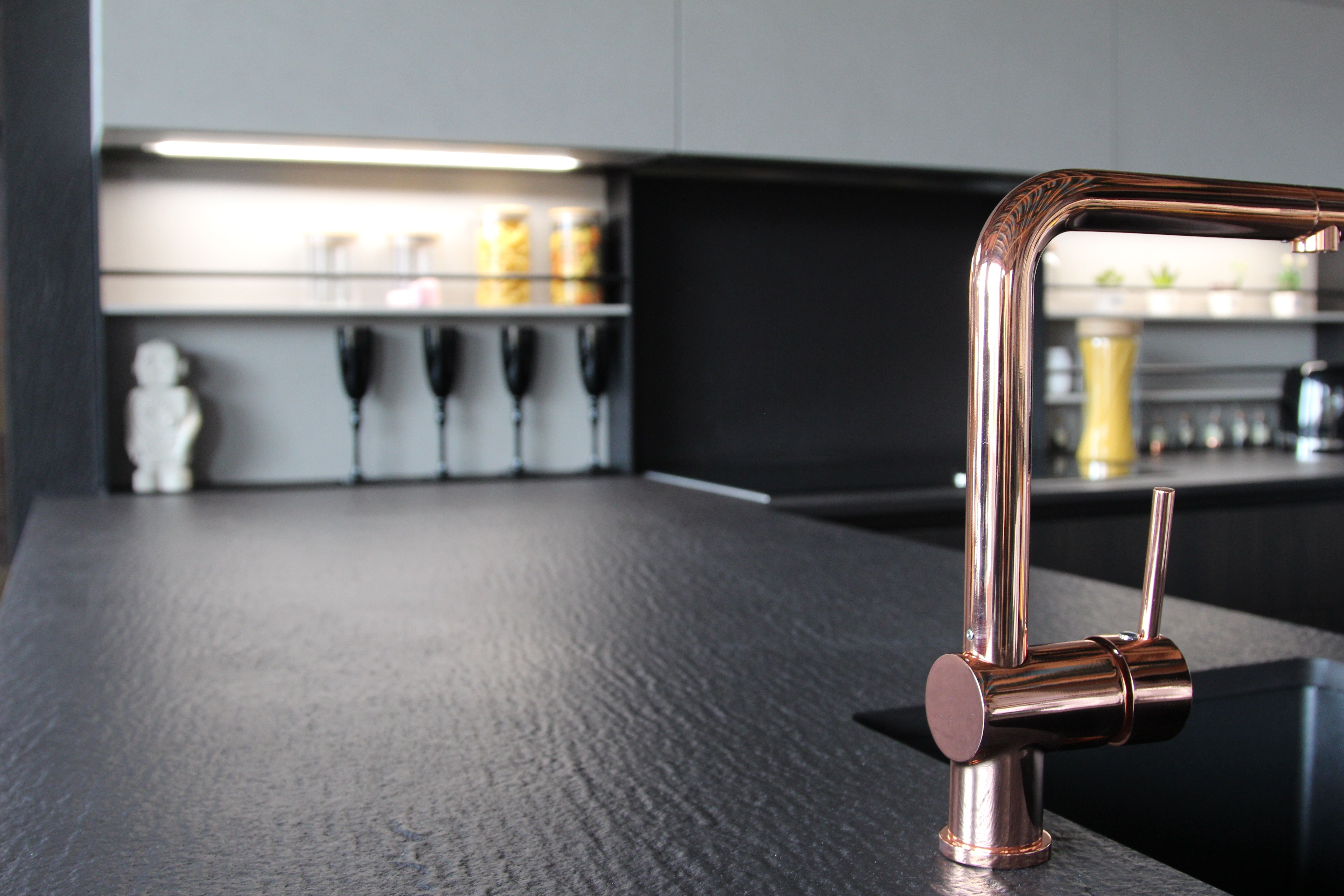 The Charm Of A Black Desert In Your Kitchen Nero Assoluto