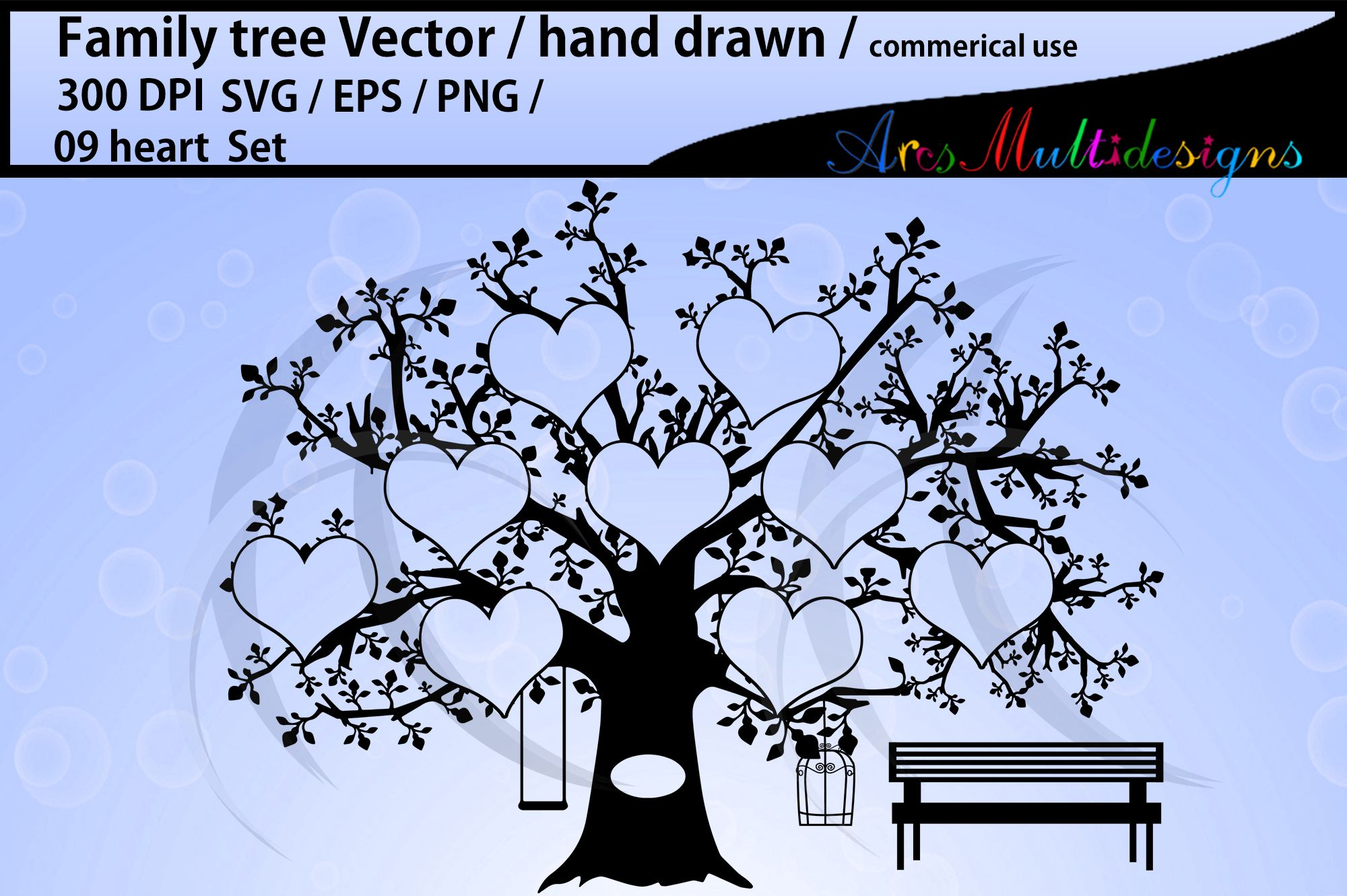 Family Tree Svg Cut File Free Svg Cut Files Create Your Diy Projects Using Your Cricut Explore Silhouette And More The Free Cut Files Include Svg Dxf Eps And Png Files