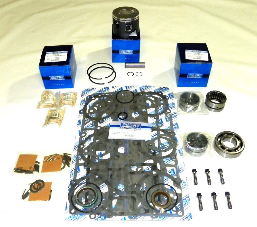Details About Mercury 75 90 Hp 3 Cyl Power Head Rebuild Kit
