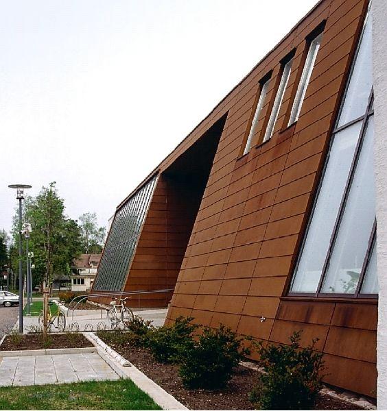 Dakplaat in staal corten google zoeken shotover for Architect zoeken