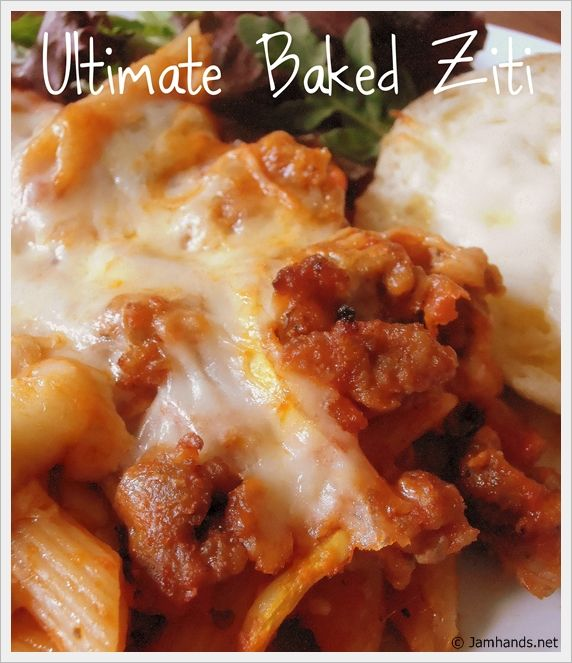 Baked Ziti With Sausage And Sour Cream Baked Ziti With Sausage Sour Cream Recipes Recipes